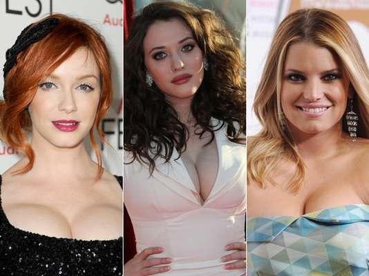 Estas famosas sond e las más bellas de Hollywood y además de talentosas, ellas resaltan por sus sexys y delineadas curvas. ¿Quiénes son las famosas más sexys y curvilíneas? ¡Conócelas!