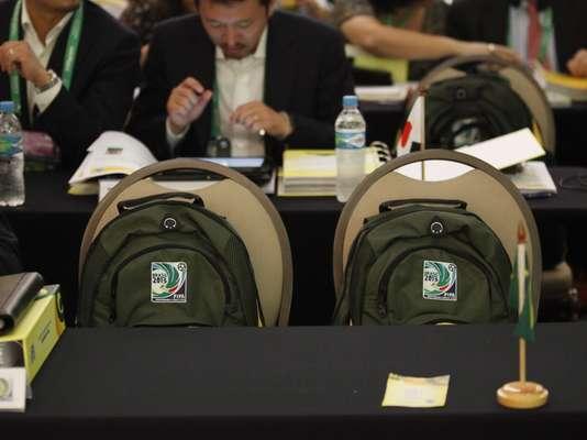 La ciudad de Sao Paulo recibe este jueves, en la víspera del sorteo de la Copa de las Confederaciones, un taller para debatir cuestiones logísticas del torneo que ocurre en Brasil en 2013.