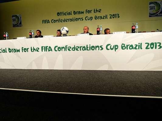 Los técnicos de las selecciones que disputarán la Copa Confederaciones 2013 concedieron una entrevista este viernes, en Sao Paulo.