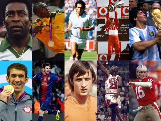 """Con motivo del """"fin del mundo"""" en el 2012 se hace un recuento de los mejores deportistas de todos los tiempos."""
