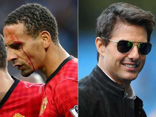 O clássico entre Manchester City e Manchester United contou com grande futebol, presença do astro Tom Cruise e cenas lamentáveis, como a agressão a Rio Ferdinand e invasão de torcedor