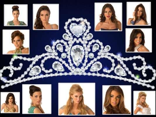 Angelicales, tiernos, sensuales o muy provocativos, así son los rostros de las mujeres que persiguen la corona del certamen de Miss Universo 2012.