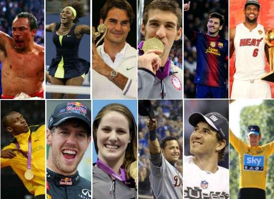 Está a punto de terminar el 2012, año olímpico que dejó gratos recuerdos en el deporte. También será recordado por los grandes atletas que brillaron y que dieron de qué hablar alrededor del planeta. Aquí seleccionamos a 12 estrellas.