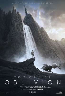 'Oblivion' abril 2013 / protagonizada por Tom Cruise, Morgan Freeman y Andrea Riseborough.