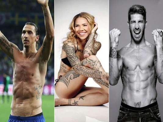 As part of Terra's end of the year coverage, we provide you some content that highlights the best and worst of the year, from the biggest scandals to the most beautiful women. Here, we highlight the best sports tattoos.