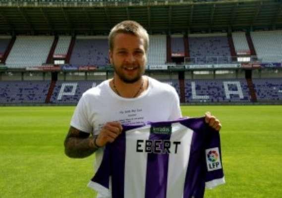 28 de julio de 2012. El Real Valladolid anuncia el fichaje de Ebert, uno de las sorpresas de esta temporada.