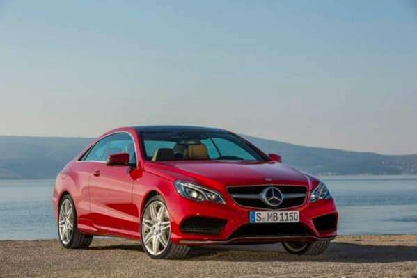 Mercedes-Benz E 500 Coupe 2014