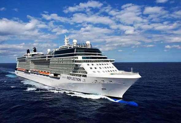 El Celebrity Reflection, con capacidad para 3 mil 30 pasajeros, es el último barco de la flota de 11 navíos de Celebrity Cruises y el quinto barco de la lujosa Clase Solstice.