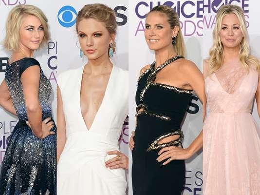 Una de nuestra parte favorita de los People's Choice Awards 2013 es la moda de las celebridades y estrellas de Hollywood. Este año estuvo repleto de glamour, color y brillantes. Recorran con nosotros los mejores y peores vestidos de la noche.