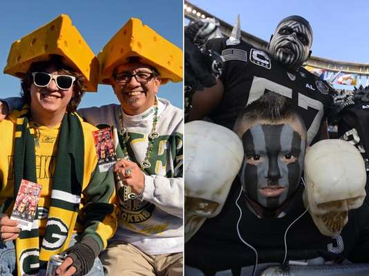 NFL fans are known for their passion but also for their creativity when supporting their teams. These are the most consumate fans in the NFL.