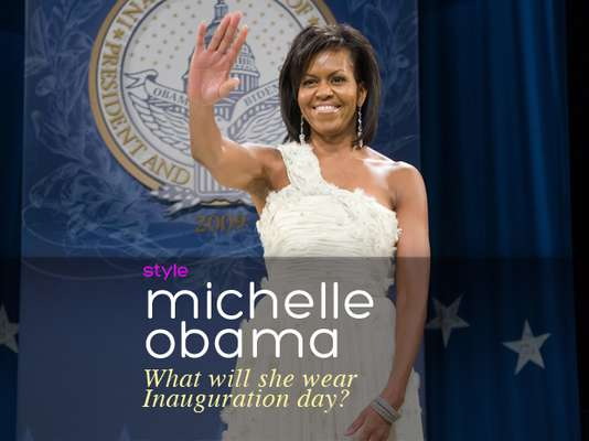 Barack Obama officially starts his second term this week and the fashion world is abuzz with speculation on what Michelle Obama will wear to Inauguration day.