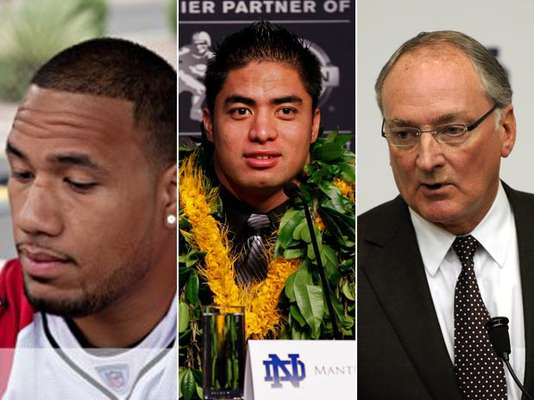 Without a doubt, the Manti Te'o story is one of the strangest to come from the sports world in recent memory. Who created a fake girl to interact with Te'o and become his girifriend, and how did he not suspect something when he claimed never to have met her? And what of the reports she really does exist? Like an onion, you have to peel back the layers of this remarkable story to find out just what happened, so here goes: