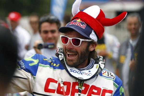 """Francisco """"Chaleco"""" López culminó en la tercera posición el Dakar 2013 a sólo 18' del segundo. De no haber sido por una penalización terminaba en aquella histórica ubicación."""