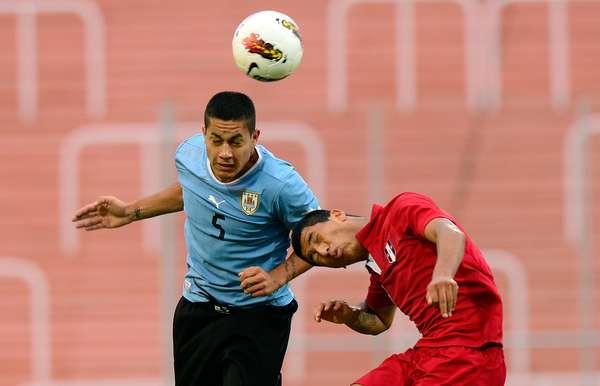 En el inicio de las hostilidades del hexagonal final del Torneo sudamericano Sub 20 Perú se midió ante Uruguay
