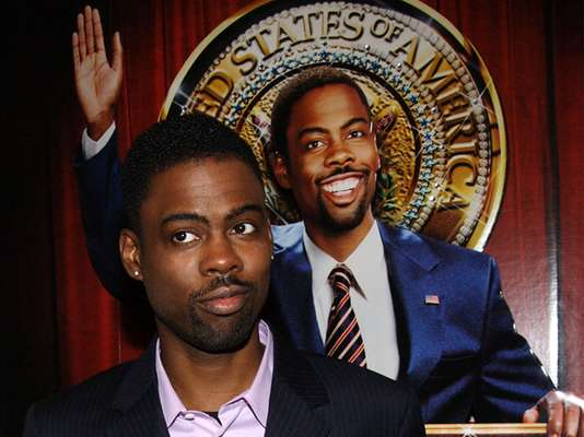 "Funnyman Chris Rock was Mays Gilliam in ""Head of State."""