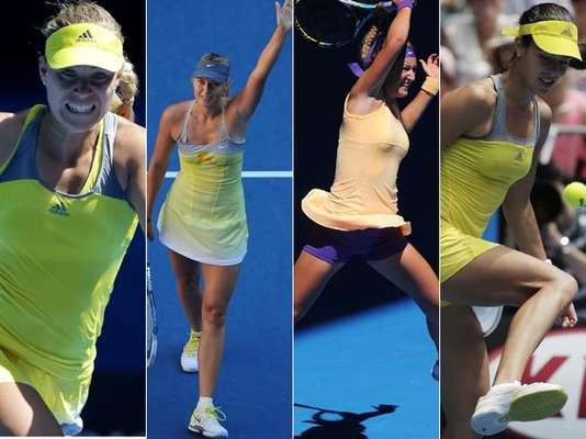 El amarillo les viene muy bien a las tenistas que participan en el Abierto de Australia, y parece que ellas lo saben. Mira los sexys atuendos de ese color que levantan suspiros a los fanáticos del deporte blanco.