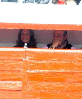 Lucero acude a una corrida de toros en Ciudad de México, acompañada de su nuevo galán, el millonario Michael Kuri.
