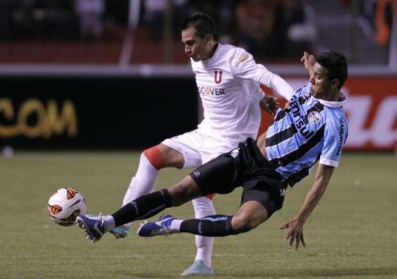 Liga de Quito se impuso por 1-0 (0-0) sobre el brasileño Gremio en un deslucido partido que disputaron el miércoles en la capital ecuatoriana, por la llave 2 de la primera fase de la Copa Libertadores de América.