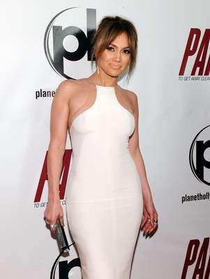 Jennifer Lopez asistió al estreno de su más reciente película llamada 'Parker'