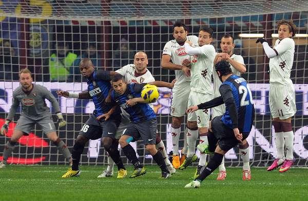 Christian Chivu puso el gol que le daba la ventaja a la escuadra neroazzurri.