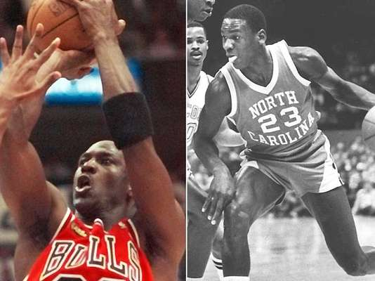 He is, by acclamation, the best basketball player in history. And here's a look back at the legendary career of Michael Jordan.