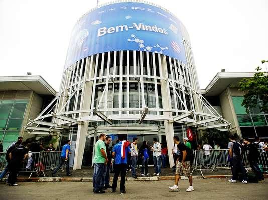 A Campus Party Brasil 2013 começou nesta segunda-feira no Parque Anhembi, em São Paulo
