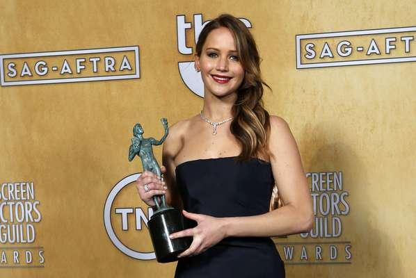 Mejor actriz: Jennifer Lawrence - Silver Linings Playbook