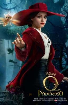 El filme fantástico de Sam Raimi, 'Oz, El Poderoso', llegará a salas de cine en México a mediados de 2013, pero mientras tanto te ofrecemos a los personajes principales de ésta precuela del clásico de 1939, 'El Mago de Oz'.Mila Kunis interpreta a la bruja del Oeste 'Theodora' pero, ¿será buena o mala?