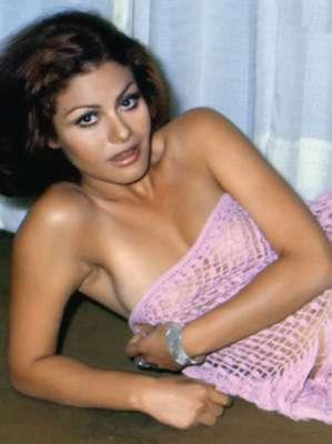 A sus 20 años María Sorté explotaba su lado más sexy con atrevidas sesiones de fotos.
