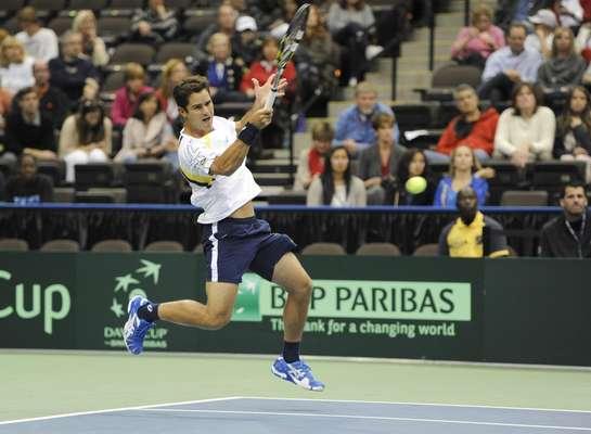 Brasil se complicou prematuramente em sua volta ao Grupo Mundial da Copa Davis. No segundo jogo contra os Estados Unidos, nesta sexta-feira, a equipe do capitão João Zwetsch sofreu a segunda derrota.