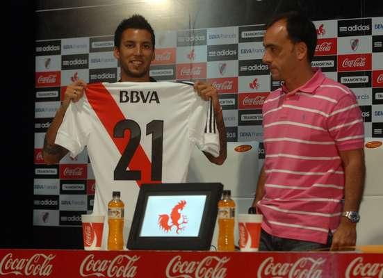 Leonel Vangioni se sumó al equipo de Ramón Díaz. Fue uno de los pilares del River del verano. Ilusionó a todos con sus buenas actuaciones, que deberá ratificar en el Torneo Final.