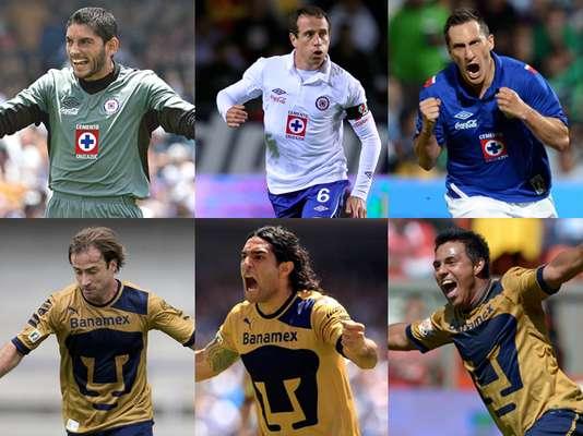 Conoce a los Jugadores que podrían ser claves en el duelo entre Cruz Azul y Pumas de la fecha 6 del Clausura 2013