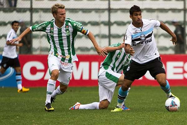Willian José passou novamente em branco e Juventude fez três pontos em vitória sobre o Grêmio, neste sábado, por 2 a 1