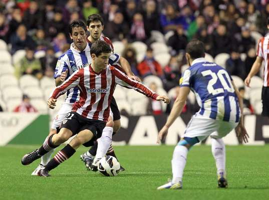 Ander Herrera, jugador del Athletic de Bilbao.