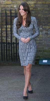 Los problemas de salud ya acabaron para la Duquesa Catalina y ahora la esposa del Príncipe Guillermo sigue con sus actividades.