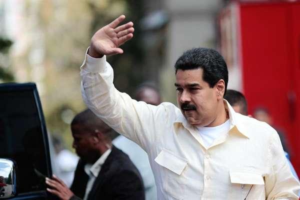 El vicepresidente Maduro llegó a la residencia oficial, La Viñeta, en Caracas,minutos antes del mandatario de Bolivia, Evo Morales, quien estuvo de visita en la capital con la intención de saludar a su homólogo, Hugo Chávez Frías. (Terra/Agencias)