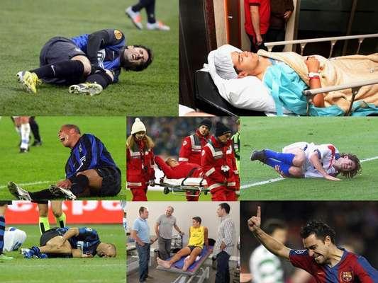 Pareciera una maldición en el Inter de Milán, toda vez que Diego Milito se lesionó del ligamento cruzado anterior de la rodilla izquierda, una lesión que en sus días hizo sufrir a Ronaldo y Walter Samuel en la propia escuadra neroazzurri, pero que también ha atacado a otros jugadores de gran renombre, en el futbol mexicano Reinaldo Navia y Pablo Barrera han sido de los casos más conocidos, a todos los ha alejado medio año de las canchas y por ello te presentamos este recuento.