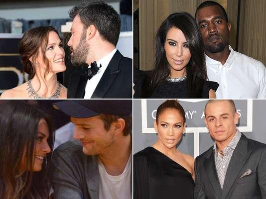 El amor está en el aire en el 2013. Parejas que se consolidan, otras que comienzan y las historias del más puro amor de los famosos con las parejas más sexys del momento ¿Cuáles son tus favoritas?