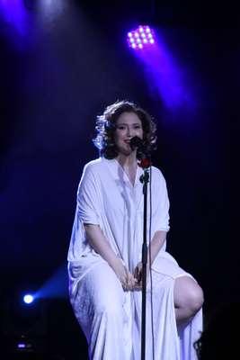 Maria Rita fez seus primeiros shows depois de dar à luz uma menina. A cantora se apresentou na última sexta-feira (8) e no sábado (9) em homenagem ao dia das mulheres
