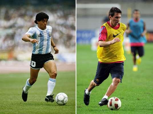 Luego del primer gol que Lionel Messi le marcó al final por los octavos de final de la Champions, muchos recordaron un tanto similar de Diego Maradona a Grecia en el Mundial 94. Ante eso, Terra analiza las coincidencias entre el mejor futbolista argentino de todos los tiempos y el que busca quitarle ese preciado título.