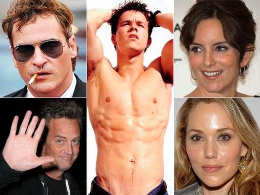 """Accidentes, peleas o defectos de nacimiento hacen que estos famosos se sientan """"algo"""" imperfectos. ¡Conoce sus más íntimos secretos!"""