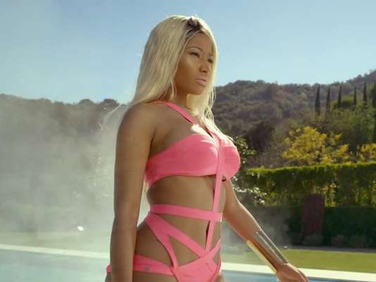 Nicki Minaj teamed up with Lil Wayne in the erotic new video for her single, 'High School.' While there are sex scenes with Lil Wayne that border on uncomfortable, we decided to collect Nicki's best solo shots in the video, you can thank us later.