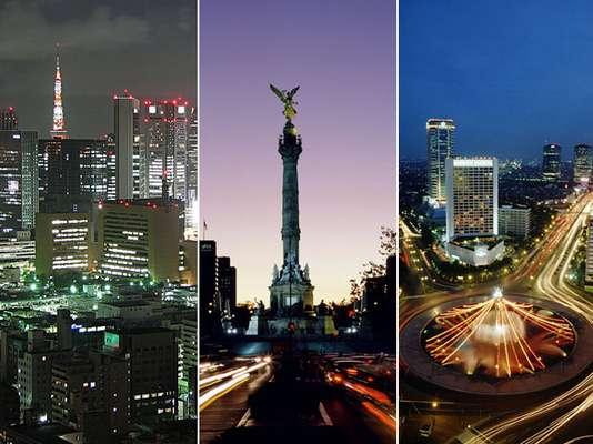 """Por su amplia población, las siguientes ciudades se destacan como las más grandes del mundo. La mayoría se encuentra en el continente asiático y del continen,te americano figuran """"la capital del mundo"""" Nueva York y México. Haz un viaje a estos lugares en el siguiente top ten:"""