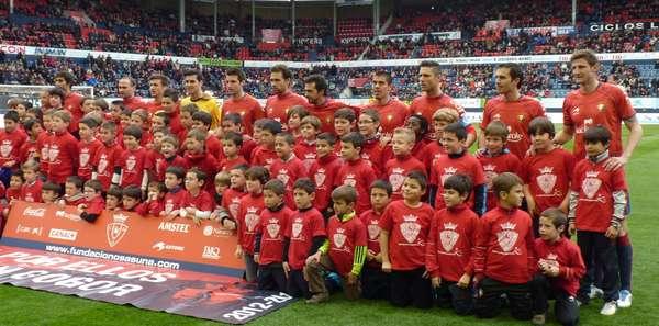 Osasuna-Espanyol en el Reyno de Navarra.