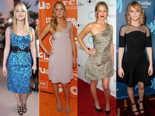Jennifer Lawrence tuvo una transformación de estilo mucho menos trágica y accidentada que otras famosas, aunque no por eso dejó de cometer ciertos crímenes de estilo.