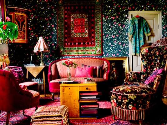Decoración De Interiores Hippie Chic Jujuy Al Momento