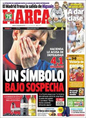 El problema de Messi con la hacienda española y el Barza