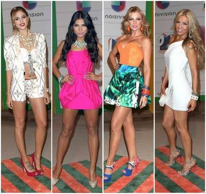La alfombra de verano de los Premios Juventud 2013 vio desfilar a las estrellas más bellas y calientes de este verano que fueron elegidas por el público hispano. ¿Quién fue tu favorita?