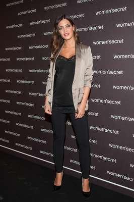 La periodista Sara Carbonero lució sus 24 semanas de embarazo en la presentación como embajadora de la firma de lencería Women's Secret, que celebra su 20 aniversario.