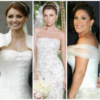Ya sea ataviadas en espléndidos vestidos o en sencillísimos modelos, las novias de nuestra farándula hispana brillan por ser las más hermosas del mundo. ¿Quieres verlas? ¡Comienza a pasar las imágenes ya!